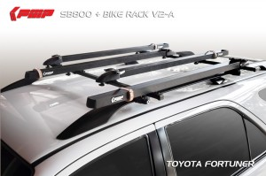 SB800 + Bike Rack-V2(A) (Toyota Fortuner)