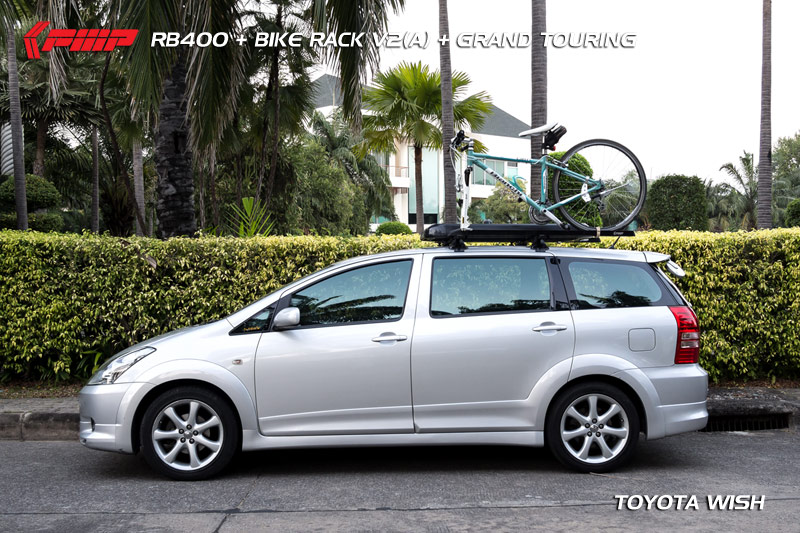 แร็คจักรยาน Toyota Wish / RB400 + Bike Rack V2(A) + Grand Touring