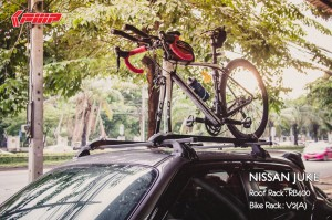 Roof Rack : RB400 + Bike Rack : V2(A)